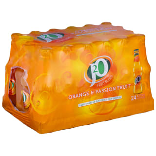 J2O Orange & Passion Fruit 24 x 275ml