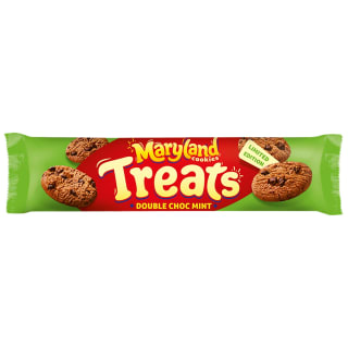 Maryland Cookies Treats Double Choc Mint 200g