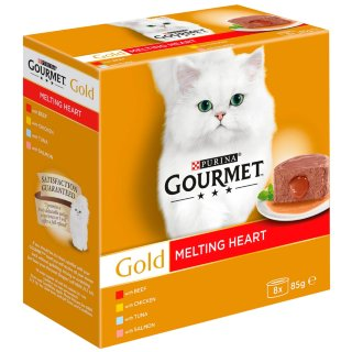Gourmet Gold Melting Heart 8 x 85g