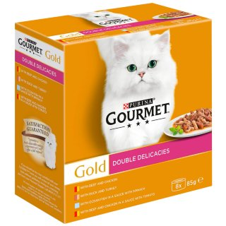Gourmet Gold Double Delicacies 8 x 85g