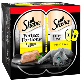 Sheba Perfect Portions with Chicken in Loaf 3pk