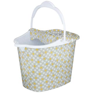 Printed Mop Bucket - Yellow Geo