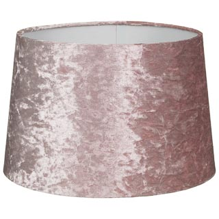 Blush Velvet Light Shade 13""
