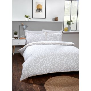 Loft Studio Leopard King Duvet Set - Natural