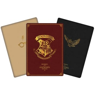 Harry Potter A6 Notebooks 3pk