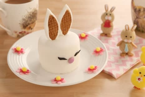 How to Make Easter Bunny Cakes