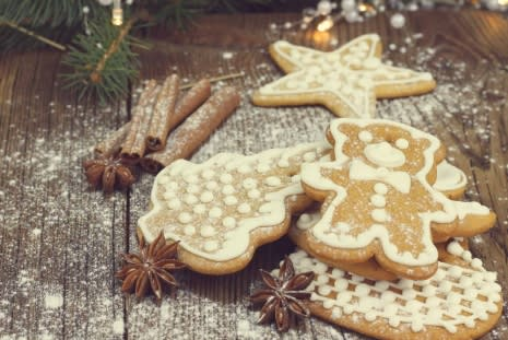 Guest Recipe: Claire's Festive Gingerbread Biscuits