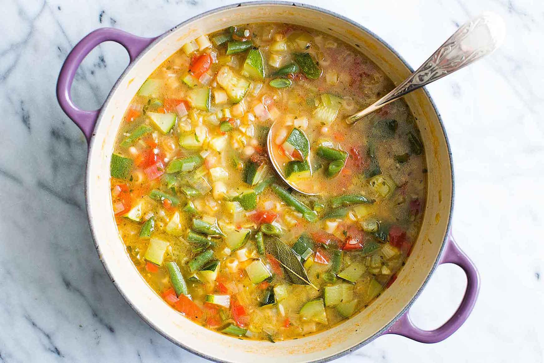 B Amp M Lifestyle Best Of Pinterest Autumn Soup Recipes Minestrone Soup