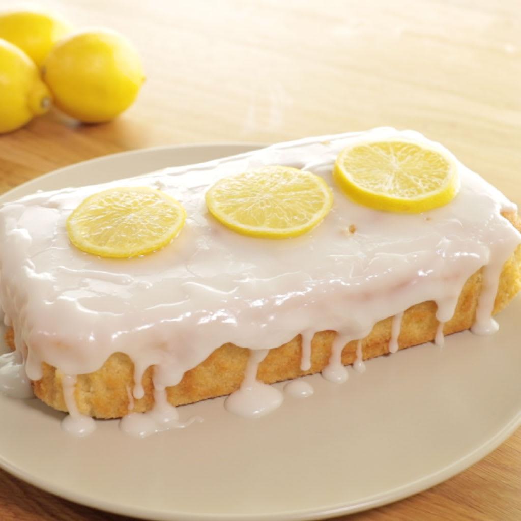 B M Lifestyle Lemonade Drizzle Cake