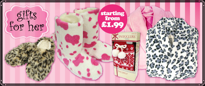 Gifts for her starting from £1.99 at B&M Stores