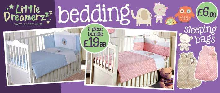 Little Dreamers Bedding Sleeping Bags
