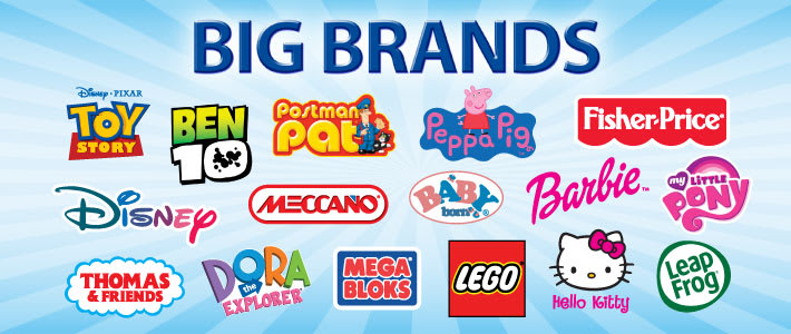 Toys Big Brands at B&M Stores
