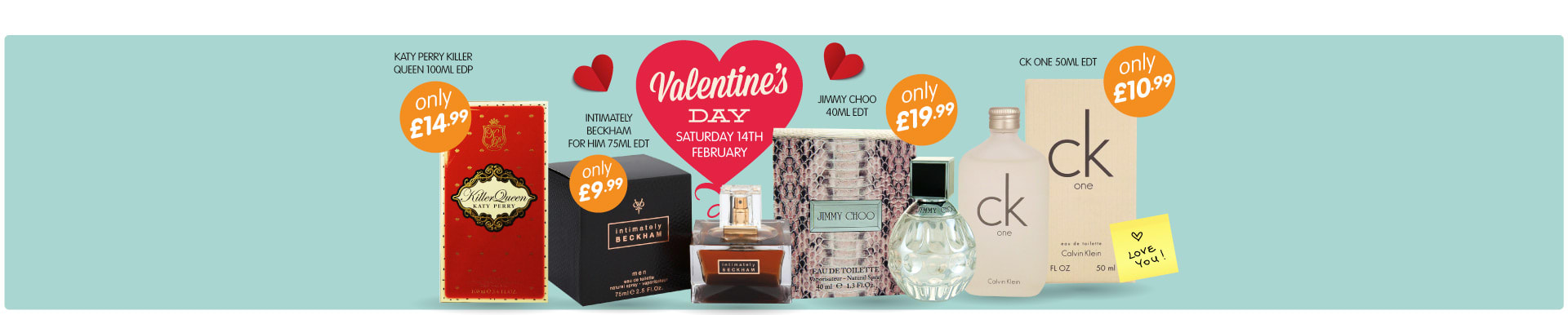 Big savings on Valentines gifts from B&M Stores.
