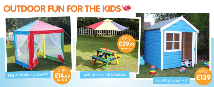 Save on outdoor fun for the kids at B&M.