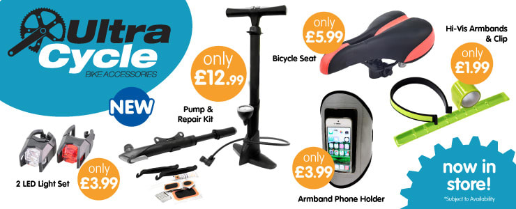 Save on Bike Accessories at B&M.
