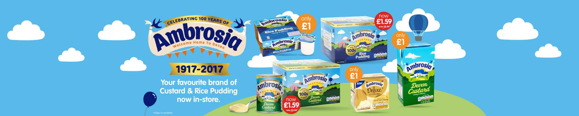 Save on Ambrosia at B&M.