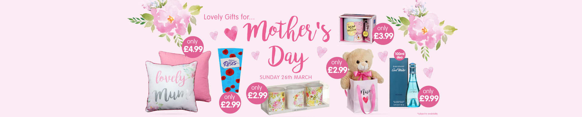 Save on Mothers Day at B&M.