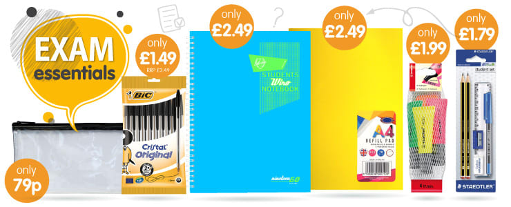 Save on Exam Essentials at B&M.