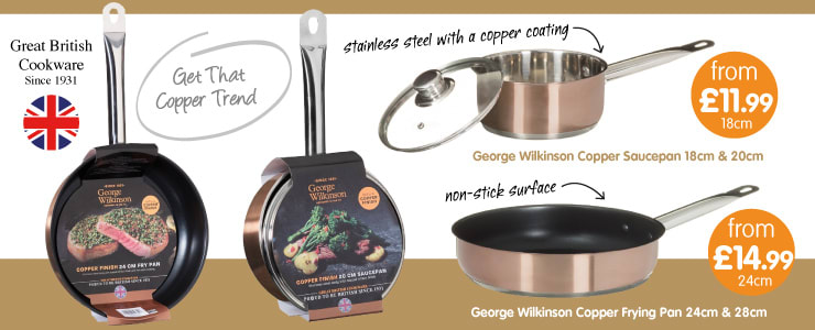 Save on Copper Cookware at B&M.