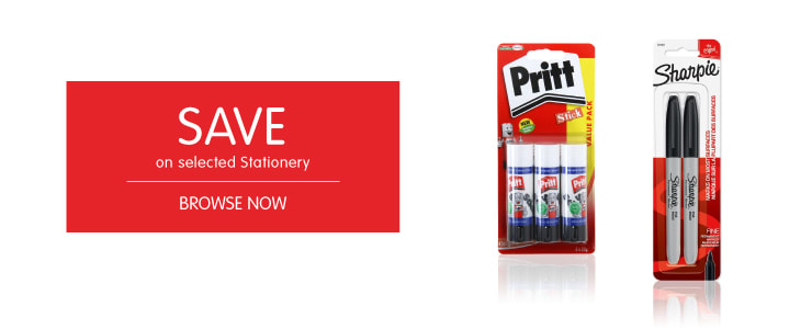 Save on Stationery at B&M.