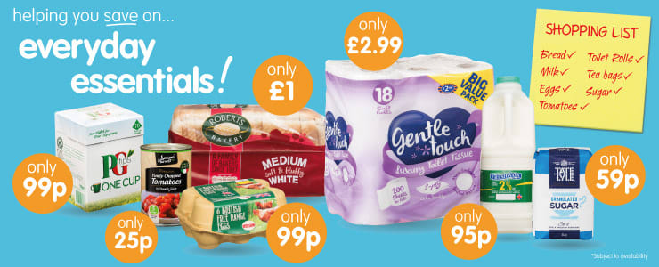 Save on Everyday Essentials at B&M.