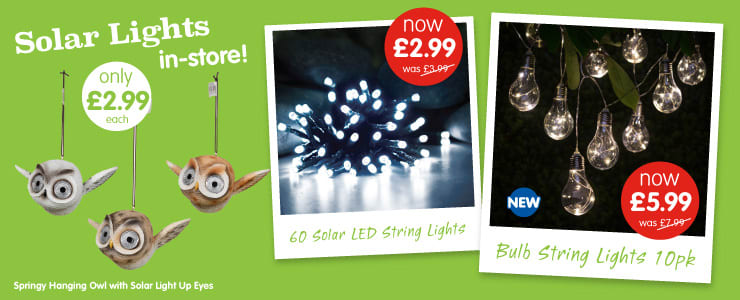 B And M Solar Wall Lights : Garden Solar Lights, Outdoor Lighting & LED Lights - B&M Stores