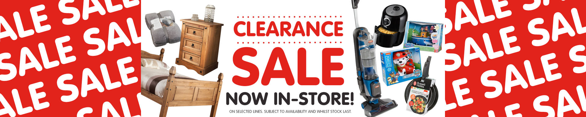 B&M Sale Now In-store.