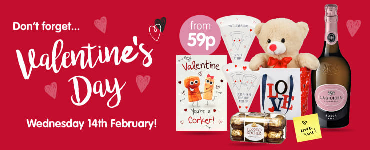 Valentine\'s Gifts and Valentine\'s Day Ideas from B&M