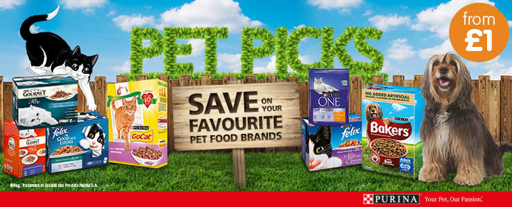 Save on Purina at B&M.