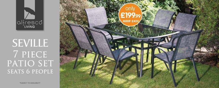 Save on garden furniture at bm