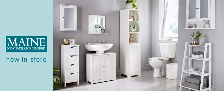 bathroom cabinets bathroom storage bathroom furniture at b m rh bmstores co uk
