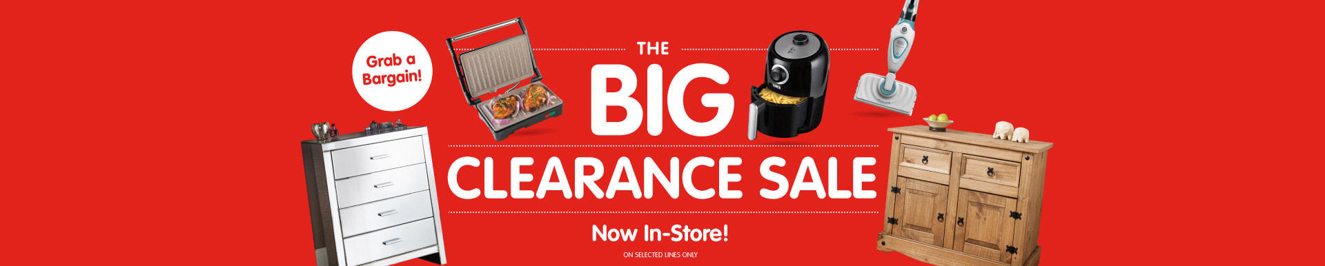 Big Clearance Sale at B&M.