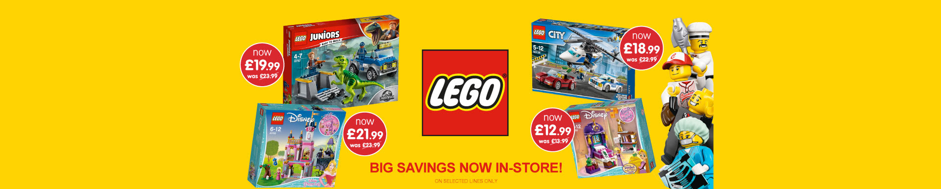 Save on LEGO at B&M.