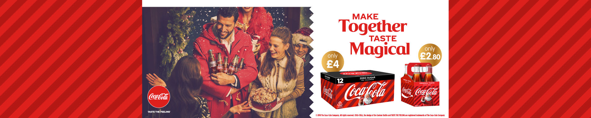 Save on Coca Cola this Christmas at B&M.