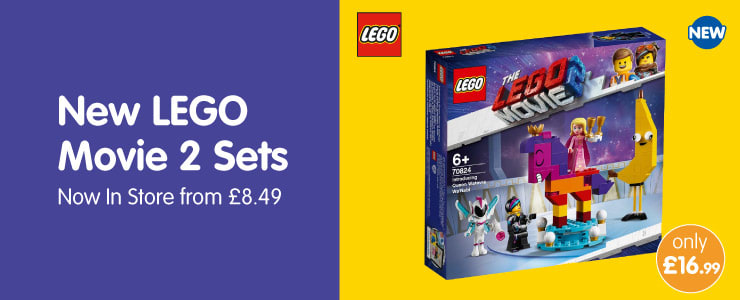 Save on LEGO Movie 2 at B&M.