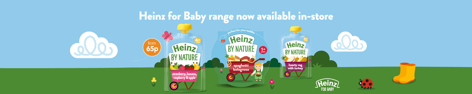 Heinz By Nature now in store at B&M.