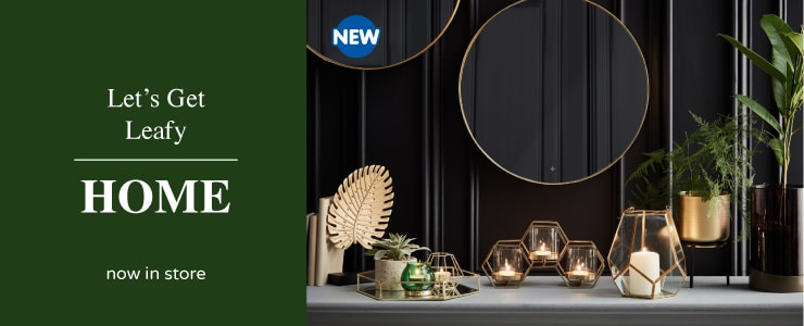 New Home Accessories trending at B&M.