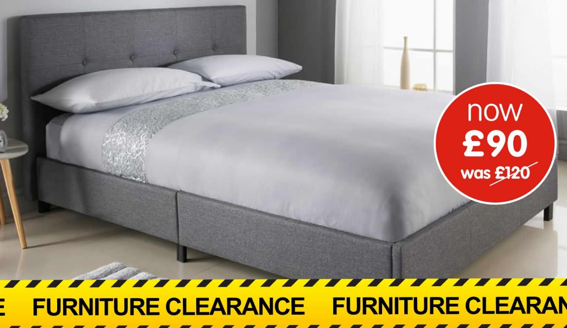 Furniture Clearance at B&M.