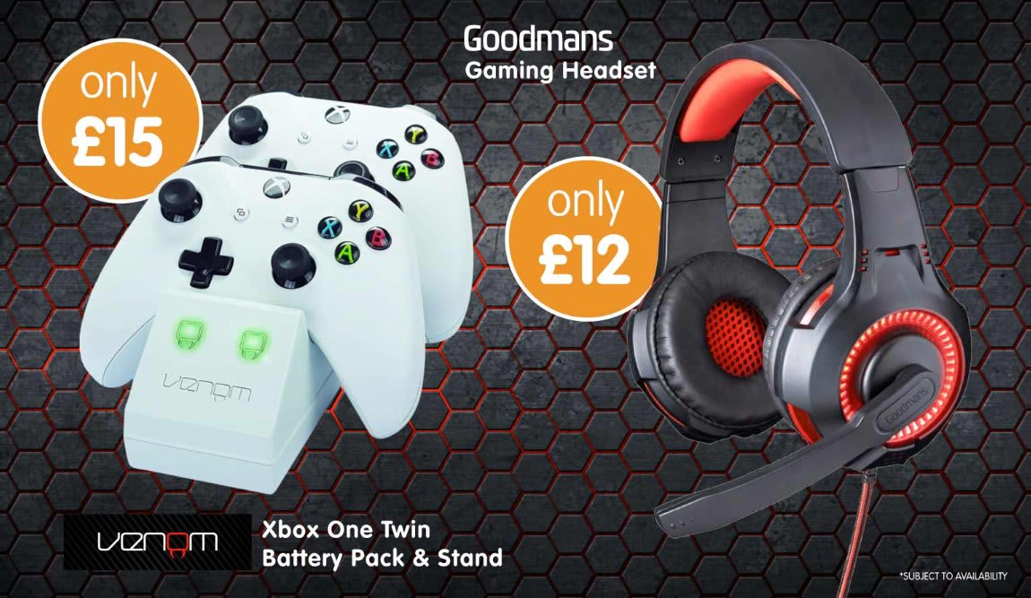Save on Gaming Accessories at B&M.