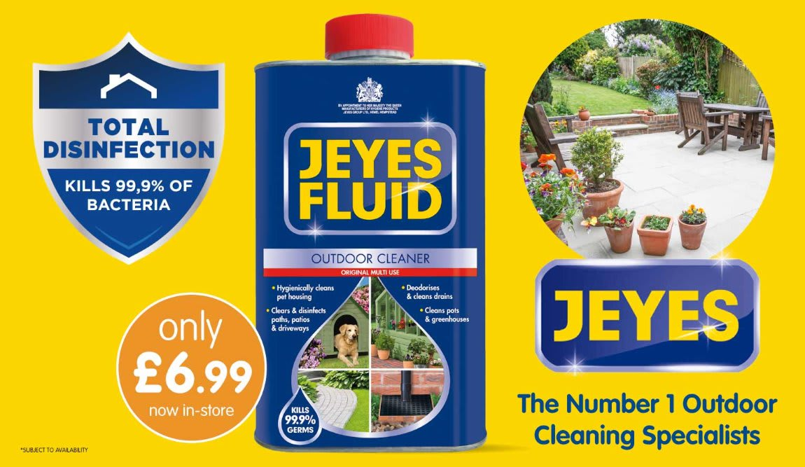 Save on Jeyes at B&M.