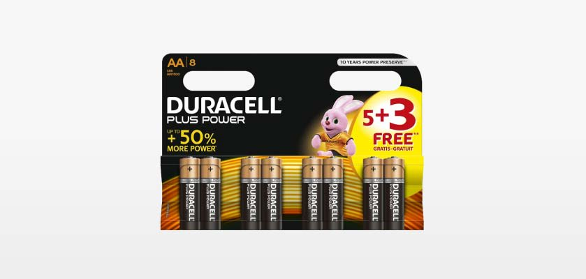 Save on Batteries at B&M.