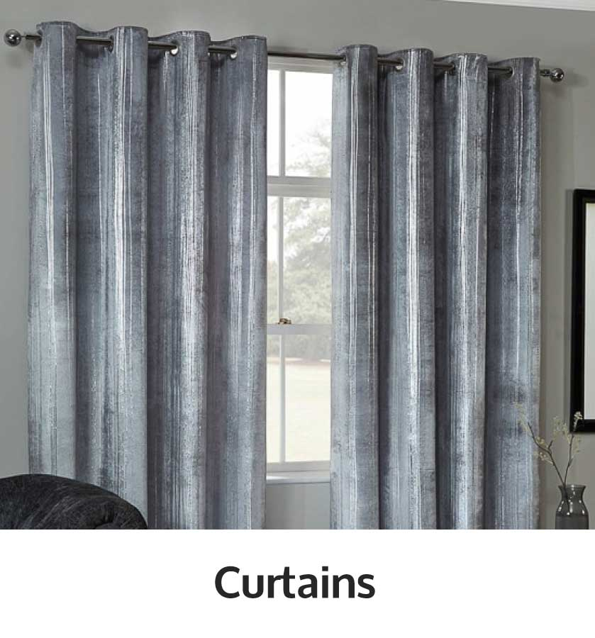 Save on curtains at B&M.