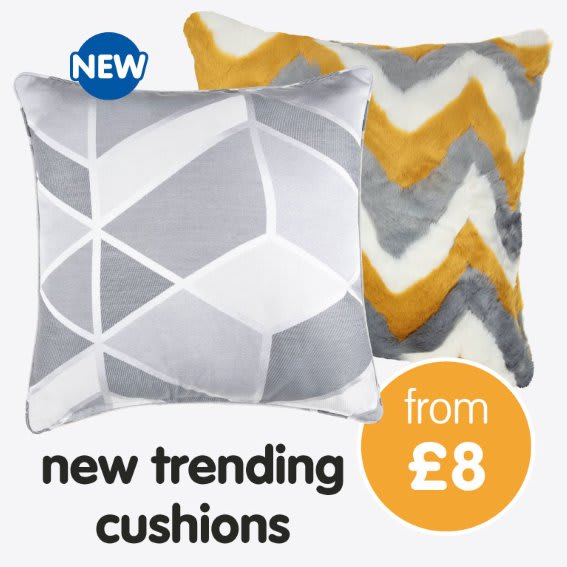 New Cushiosn now in store at B&M.