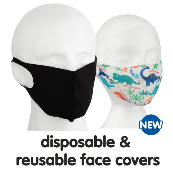 Save on Face coverings at B&M.