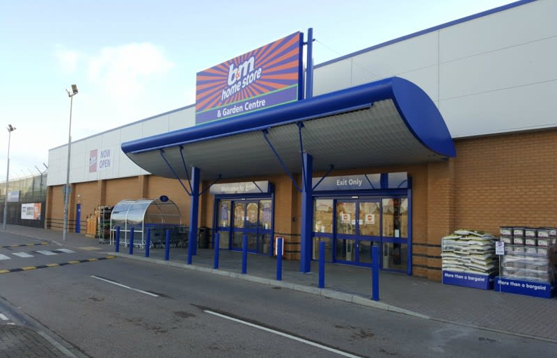B M Port Talbot Baglan Bay Garden Centre And Furniture Toy And Electrical Shop