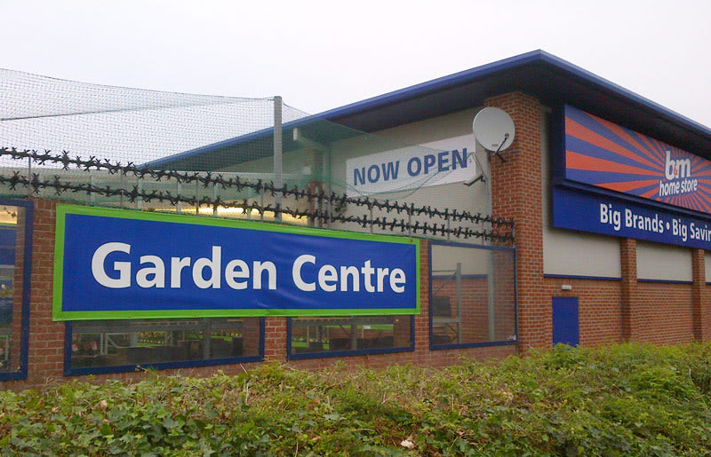 B&M Nantwich Barony Garden Centre and Furniture, Toy and ...