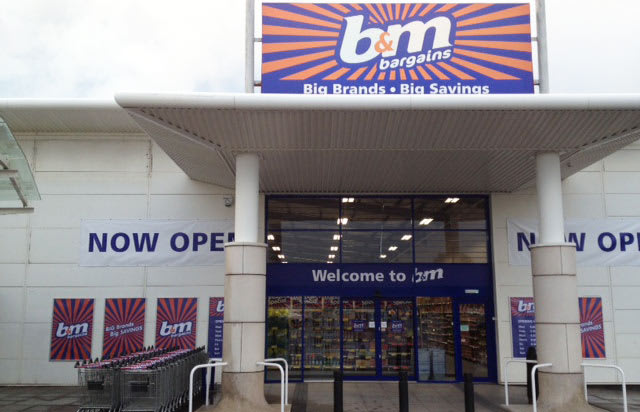 B&M Hamilton Food, Toy and Electricals Shop
