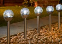 new arrival a6be0 6f31e Garden Solar Lights, Outdoor Lighting & LED Lights - B&M Stores